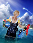 Leaving Besaid - Tidus FFX Cosplay by Leon Chiro