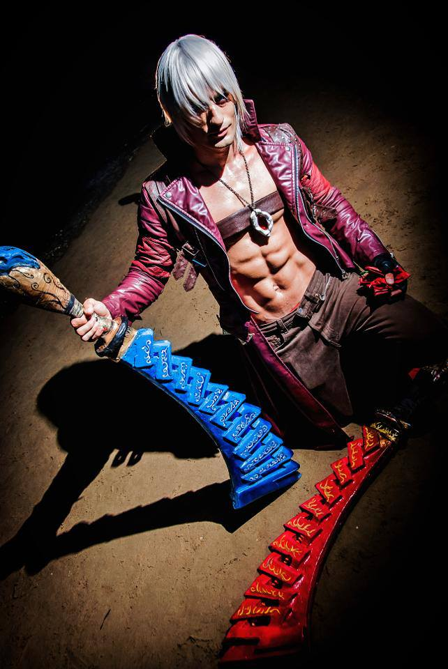 The Night is Calling - Dante Cosplay Devil May Cry by LeonChiroCosplayArt