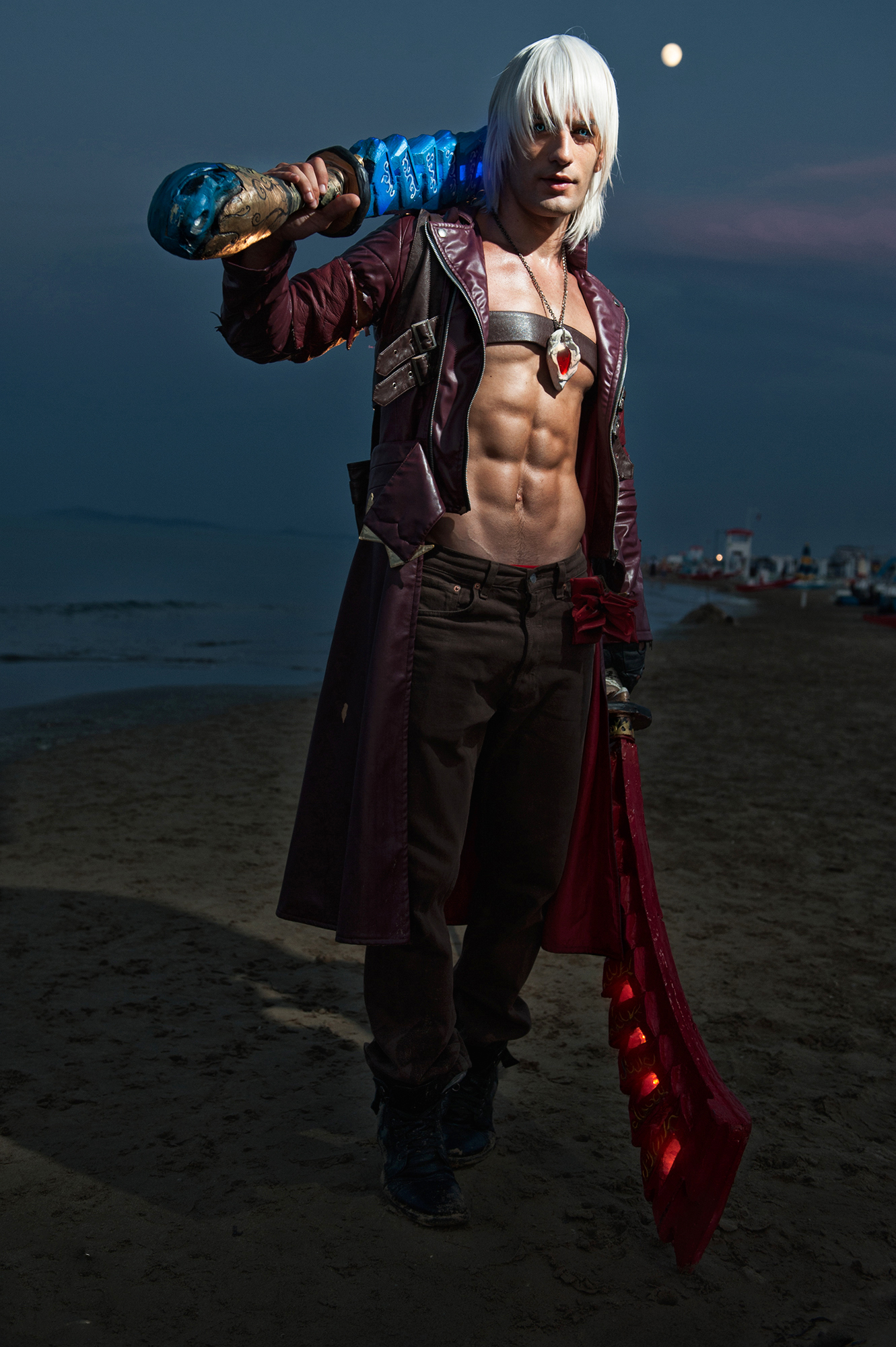 Enough Already - Dante Devil May Cry 3 by LeonChiroCosplayArt