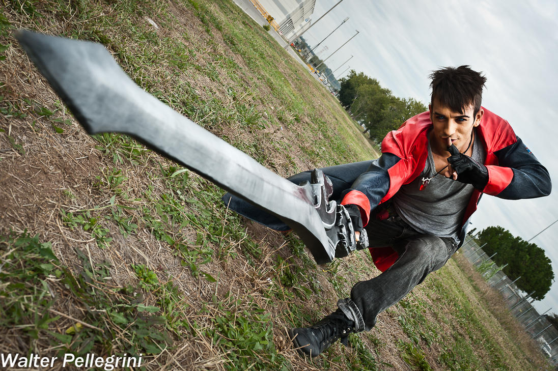 Shut up and Swallow - Dante Cosplay DmC by Leon C. by LeonChiroCosplayArt