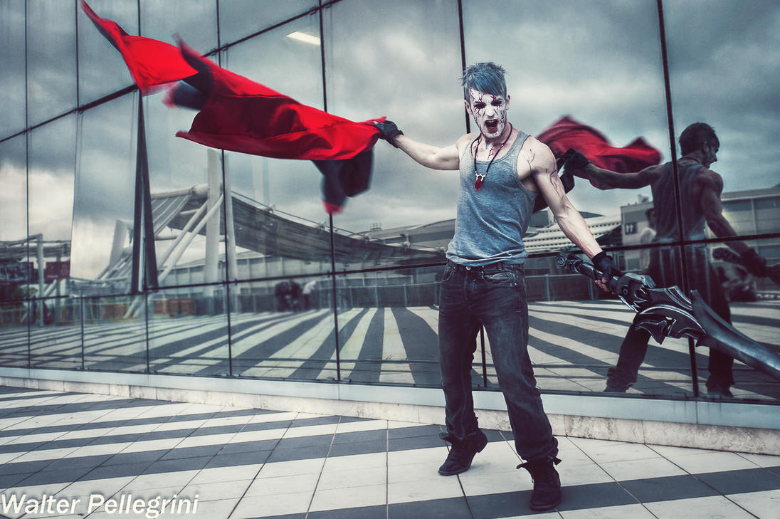 Feed the Fire - Dante DmC Cosplay by Leon Chiro by LeonChiroCosplayArt