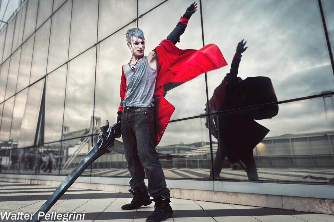 Clouds of War - Dante Cosplay DmC by Leon Chiro by LeonChiroCosplayArt