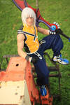 Waiting for You - Riku KH Cosplay by Leon Chiro
