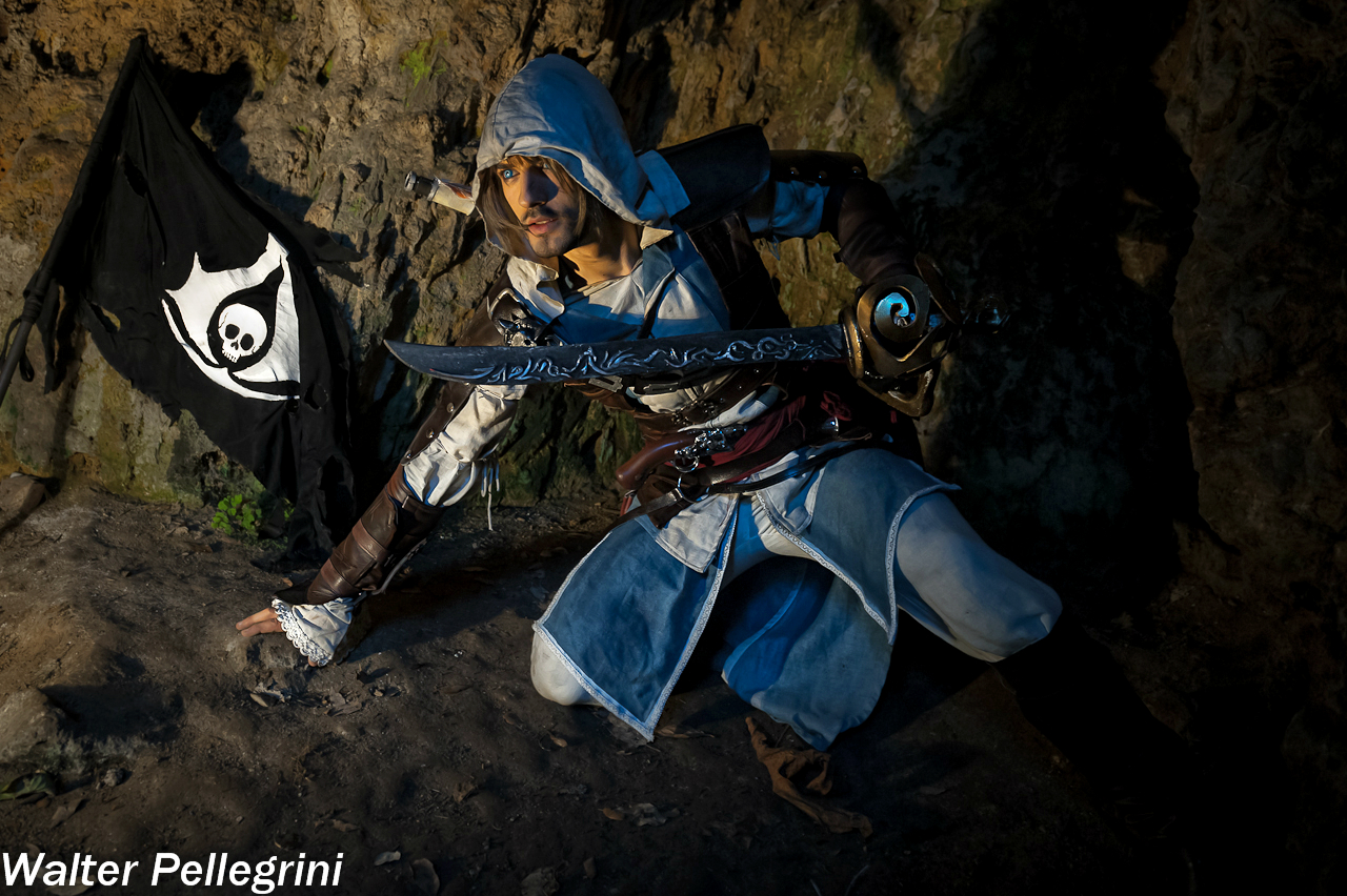 Marked for Death - Edward Kenway Cosplay by Leon C by LeonChiroCosplayArt