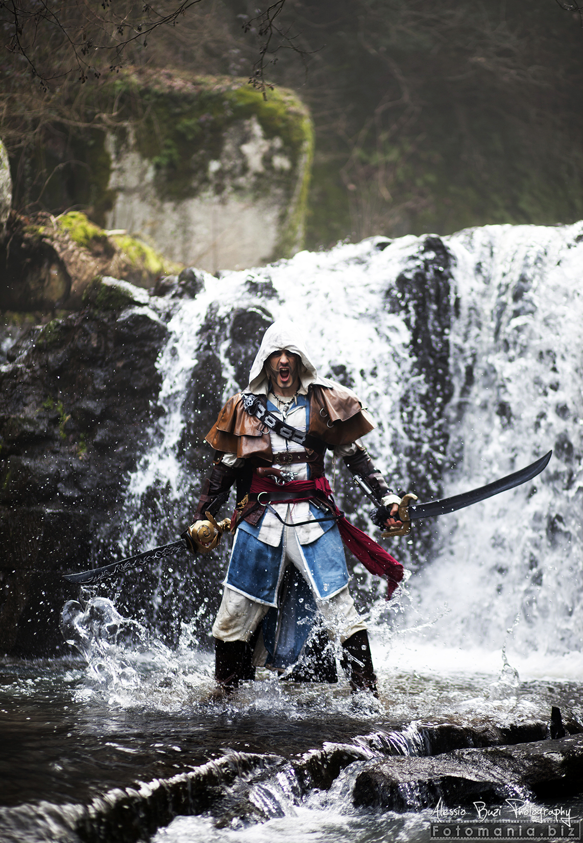 Edward's Wrath - Kenway Cosplay by Leon Chiro by LeonChiroCosplayArt