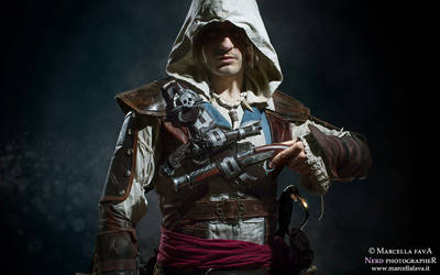 Cosplay Passion - Edward Kenway by Leon Chiro Art