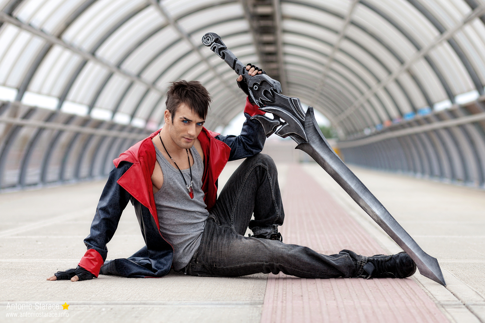 5 Stars Dante Dmc Devil May Cry Cosplay By Leon By