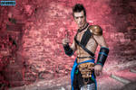 Action Time - Jann Lee Dead or Alive 5 Cosplay