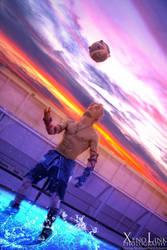 Blitz On - Tidus Final Fantasy Dissidia012 Cosplay