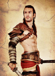 Gannicus - Spartacus Cosplay by Leon Chiro by LeonChiroCosplayArt