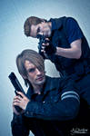 Capcom Cosplay - Leon and Wesker by Leon and Phil