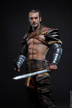 Honor and Glory - Gannicus Cosplay : Spartacus LC
