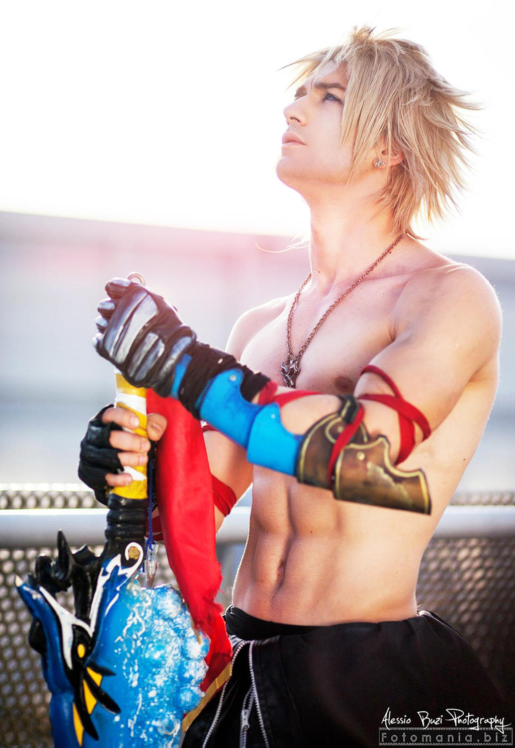 Très Just a Dream - Tidus Final Fantasy Cosplay by Leon by  SW34