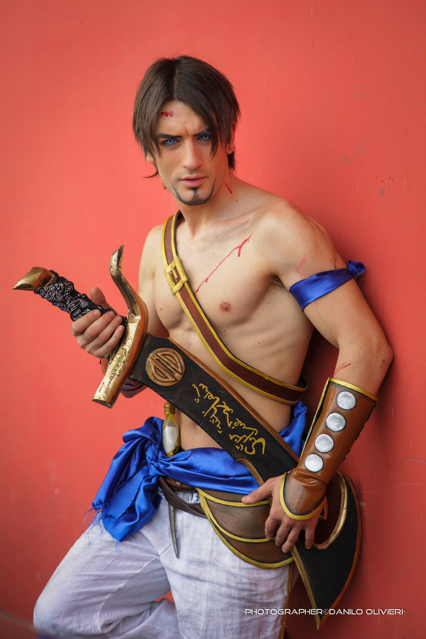 cosplay prince of persialeon chiro - sot ps2 v