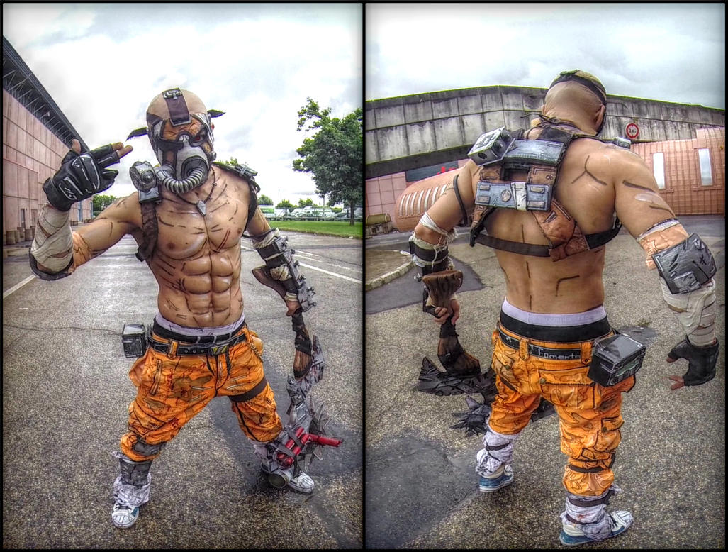 Psycho Krieg Borderlands 2 Leon Chiro Cosplay Art By