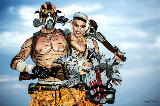 Best Couple Psycho - Borderlands 2 Cosplay by Leon