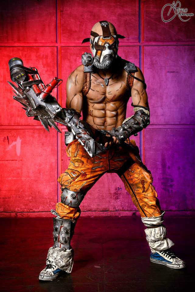 Mind on Fire - Psycho Krieg Borderlands 2 Cosplay by ...