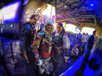 Real Assassin Brotherhood Cosplay in Gamescom 2014