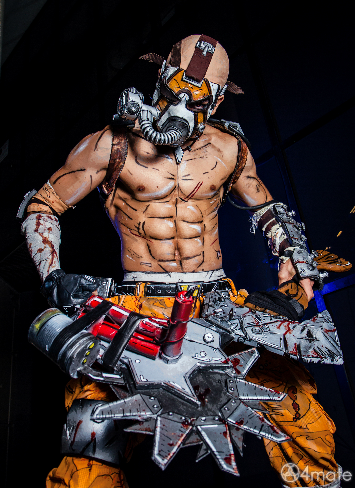 Borderlands 2 Cosplay - Psycho Krieg by Leon Chiro by ...