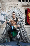 Throne - Jann Lee - Dead or Alive 5 by Leon Chiro