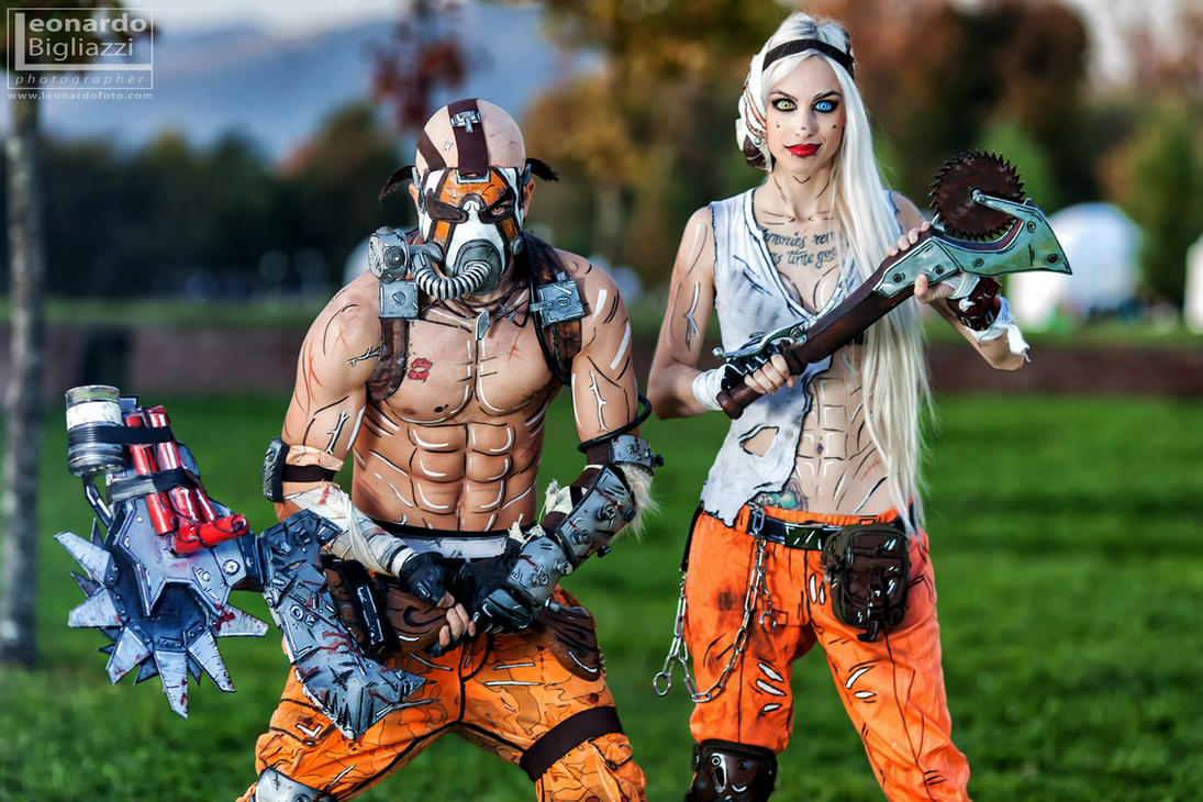 Psycho Krieg from Lucca  Borderlands 2 Cosplay by ...