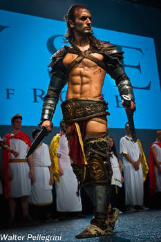 Leon Chiro on the Stage for CRYTEK \ Ryse: SoR