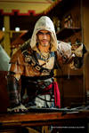 Edward Kenway Cosplay - FIRE Black Flag by Leon