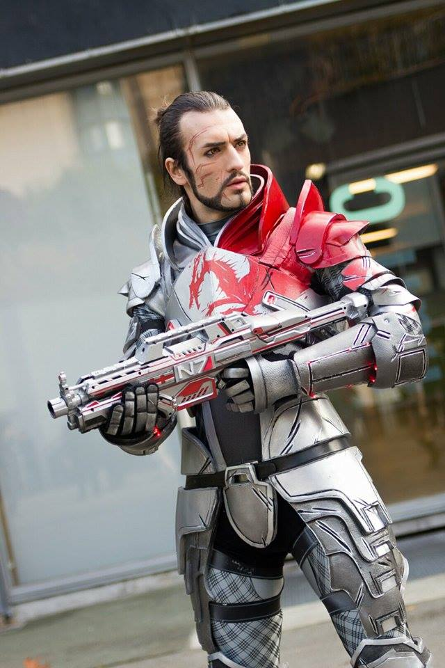 First Preview - Blood Dragon Armour Cosplay ME3 by LeonChiroCosplayArt