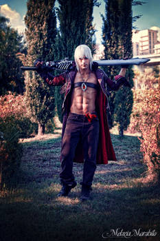 Dante and Rebellion - Devil May Cry 3 Cosplay Art