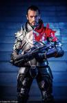 Commander Shepard Mass Effect Cosplay - Leon Chiro