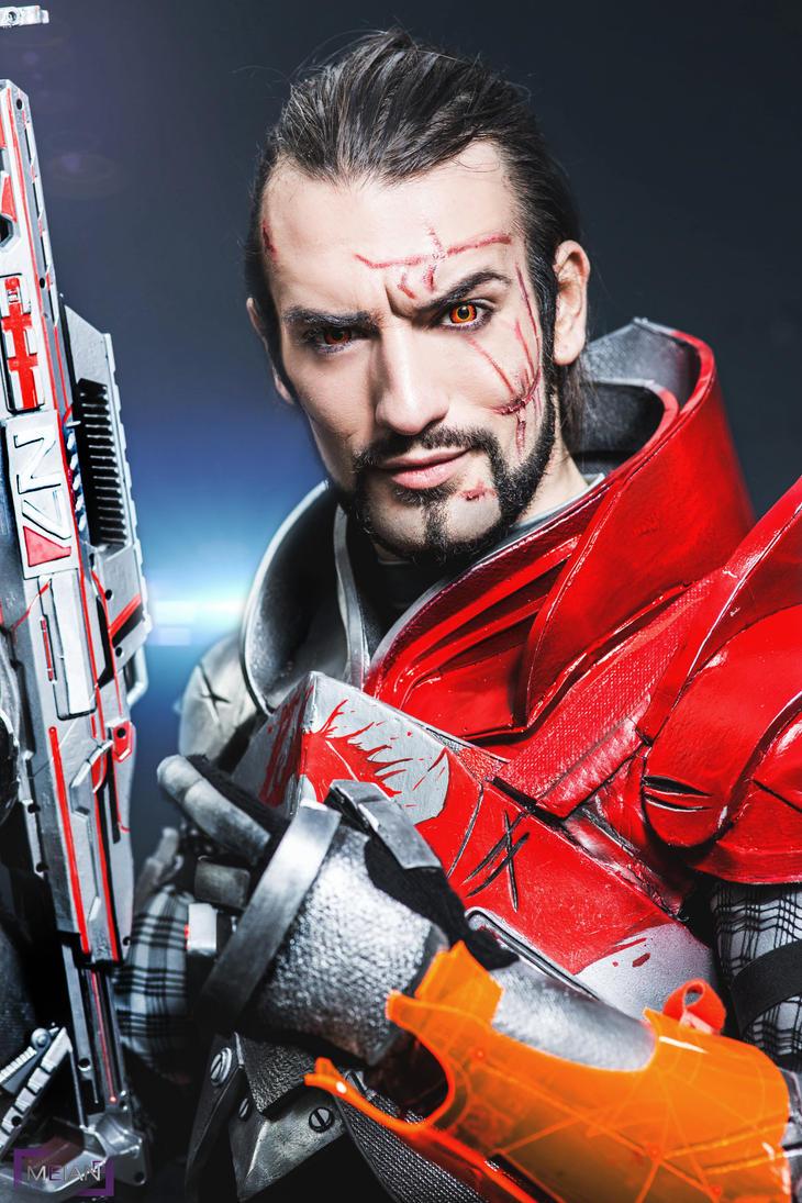 Commander Leon C. Shepard - Mass Effect 3 Cosplay by LeonChiroCosplayArt