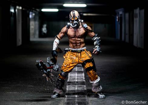 Psycho Krieg Cosplay - Borderlands 2 2K 2015 by LeonChiroCosplayArt