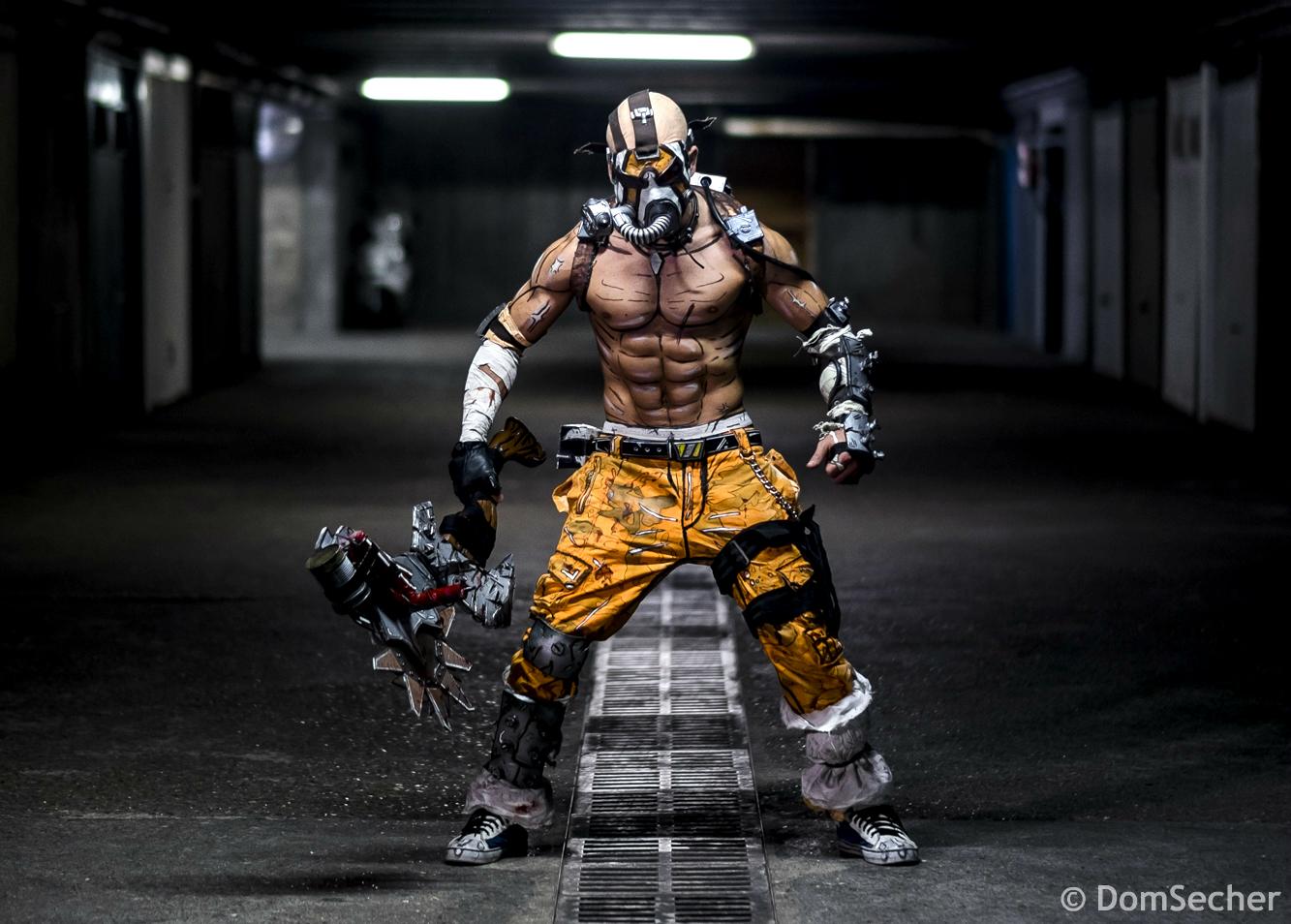 Psycho Krieg Cosplay - Borderlands 2 2K 2015