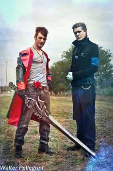 Dante and Vergil DmC Cosplay HD 2015 - Leon Chiro