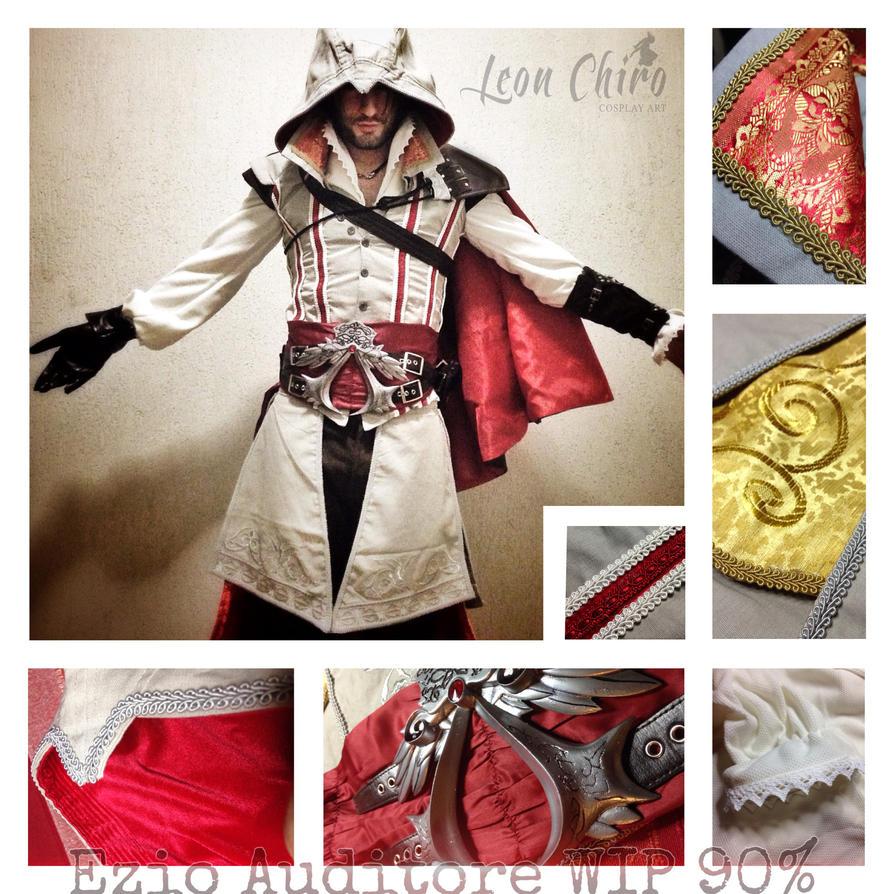 Last WIP - Ezio Auditore Cosplay by Leon Chiro by LeonChiroCosplayArt