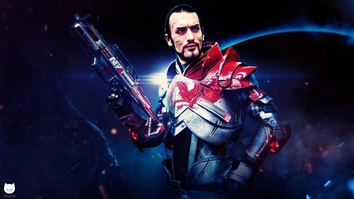 Shepard Cosplay - Mass Effect - 4 K Quality Leon C by LeonChiroCosplayArt