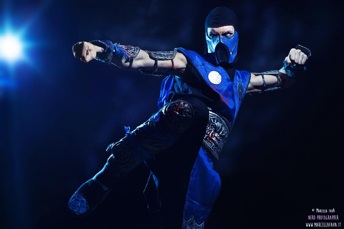 cosplay sub zero mortal kombat costume