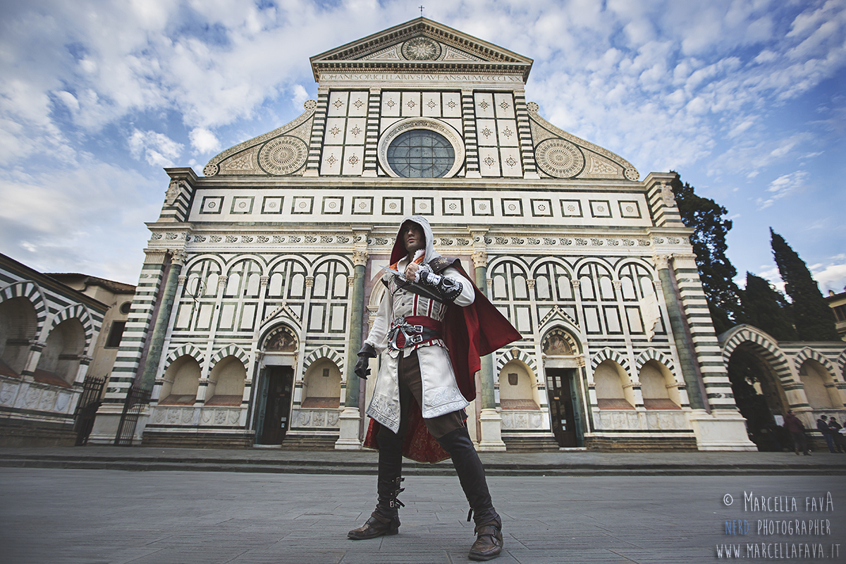 Ezio Auditore da Firenze- Assassin's Creed Cosplay