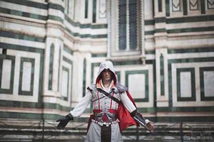Ezio Auditore in Firenze- Assassin's Creed Cosplay by LeonChiroCosplayArt