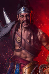 Gladiator Draven LOL - COSPLAY Art by Leon Chiro by LeonChiroCosplayArt