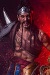 Gladiator Draven LOL - COSPLAY Art by Leon Chiro by LeonChiroCosplayArt