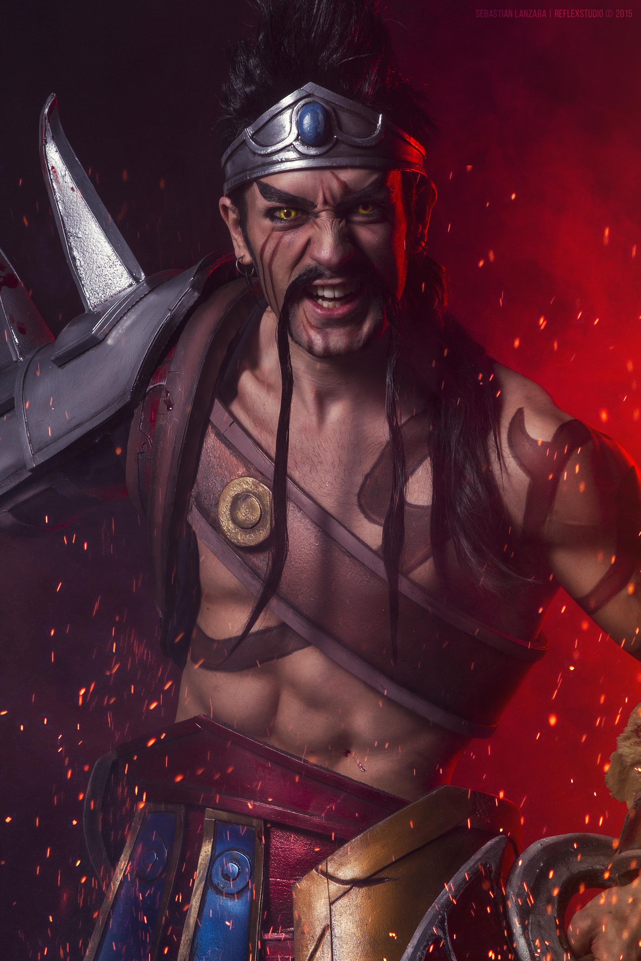 Gladiator Draven LOL - COSPLAY Art by Leon Chiro