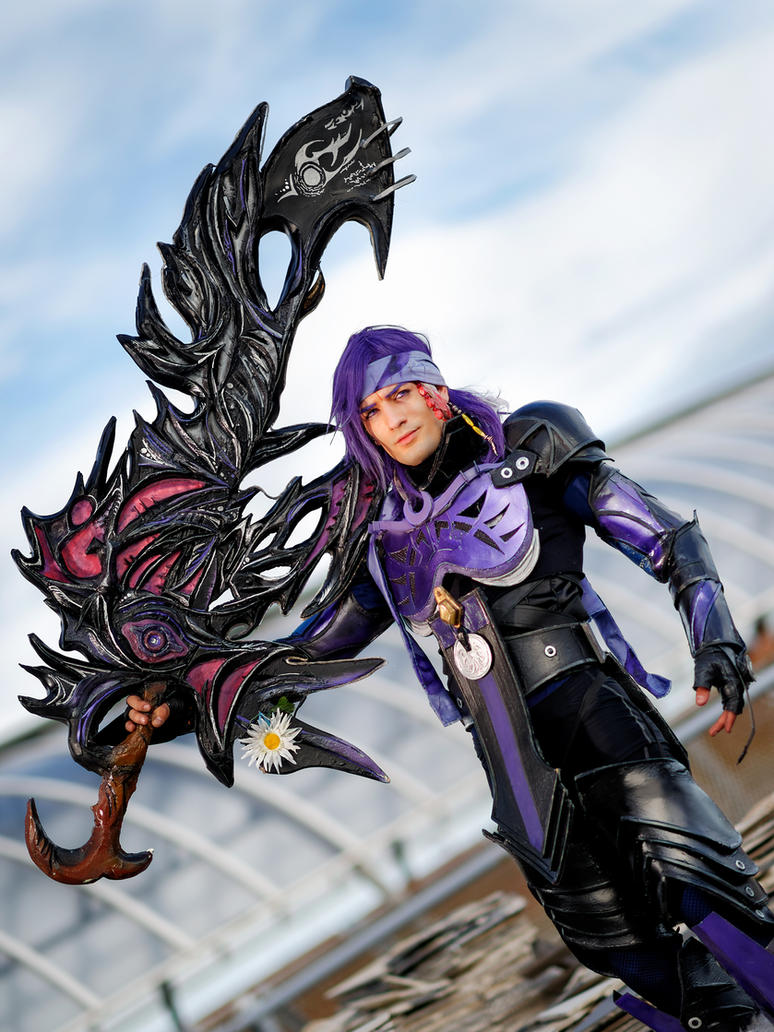 Chaos - Caius Ballad Final Fantasy XIII-2 Cosplay by LeonChiroCosplayArt