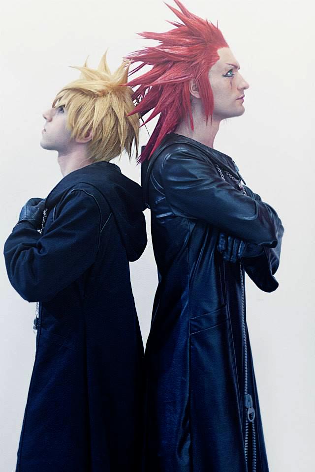 Axel and Roxas Cosplay Kingdom Hearts 2 Leon Chiro by LeonChiroCosplayArt