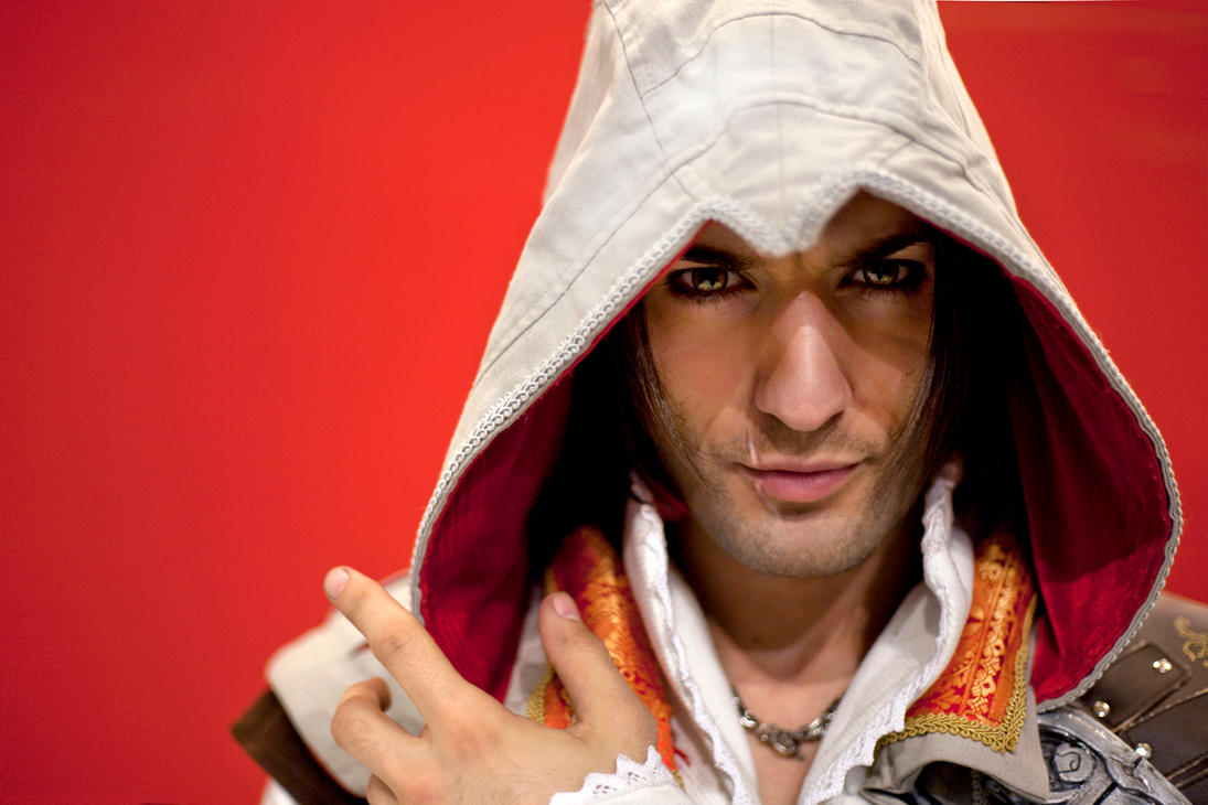 46K Thanks- Ezio Auditore Cosplay Assassin's Creed by LeonChiroCosplayArt