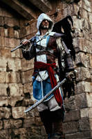 Edward Kenway - AC IV Black Flag Cosplay Art by LeonChiroCosplayArt