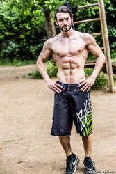 #FitnessFriday - Leon Chiro ( Calishtenics) by LeonChiroCosplayArt