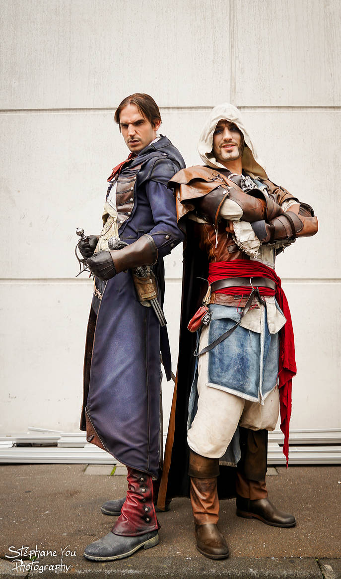 RBF-Productions-NL and LeonChiro -We are ASSASSINS by LeonChiroCosplayArt