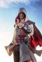 Ezio Auditore - Assassassin's Creed 2 Cosplay Art by LeonChiroCosplayArt