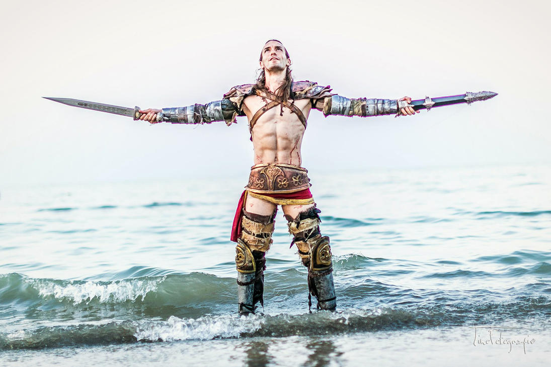 Gannicus Cosplay - Spartacus Day of Freedom by LeonChiroCosplayArt